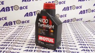 Масло моторное 10W40 (полусинтетическое) SN MOTUL TURBOLIGHT 4100 1L