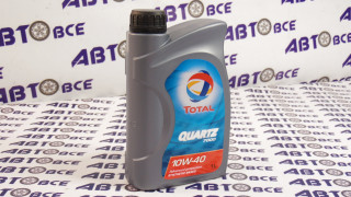 Масло моторное 10W40 (полусинтетическое) SN/CF TOTAL QUARTZ 7000 1L
