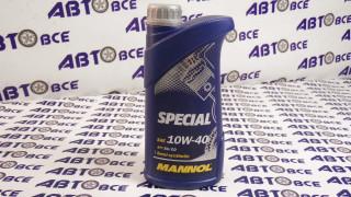 Масло моторное 10W40 (полусинтетическое) SG/CD MANNOL SPECIAL 1L