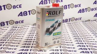 Масло моторное 10W40 (полусинтетическое) SJ/CF ROLF DYNAMIC 1L