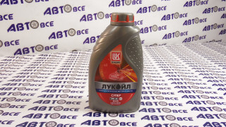 Масло моторное 10W40 (полусинтетическое) SL/CF Лукойл СУПЕР 1L