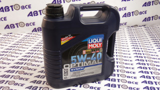 Масло моторное 5W40 (синтетика) SN/SF LIQUI MOLY OPTIMAL 4L