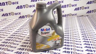 Масло моторное 5W40 (синтетика) SN/SM MOBIL SUPER 3000 4L