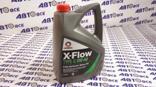 Масло моторное 5W40 (синтетика) SL/CF COMMA X-FLOW TYPE G  4L