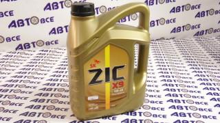 Масло моторное 5W40 (синтетика) SN ZIC X9 4L