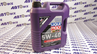Масло моторное 5W40 (синтетика) SN/SF LIQUI MOLY SYNTHOIL HIGHT TECH 5L