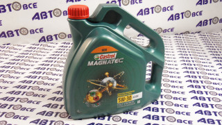 Масло моторное 5W30 (синтетика)SL/CF CASTROL MAGNATEC A3/B4  4L