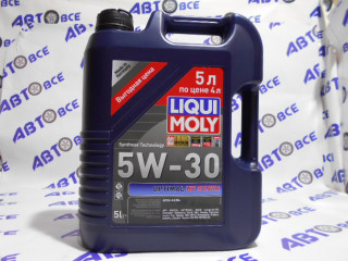 Масло моторное 5W30 (синтетика) SN/CF LIQUIMOLY OPTIMAL 5L