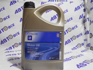Масло моторное 5W30 (синтетика) SN/CF GM 4L