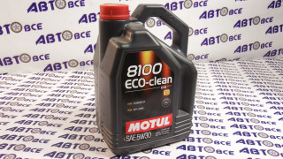 Масло моторное 5W30 (синтетика) SN MOTUL ECO-CLEAN 8100 5L