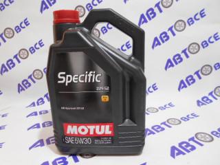 Масло моторное 5W30 (синтетика) SN MOTUL SPECIFIC 5L (Mercedes 229.52)