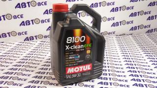 Масло моторное 5W30 (синтетика) SN MOTUL X-CLEAN EFE 8100 5L
