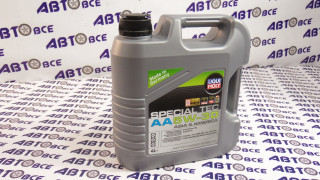 Масло моторное 5W30 (синтетика) SN/SF LIQUI MOLY SPECIAL TEC AA 4L