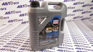 Масло моторное 5W30 (синтетика) SN/SF LIQUI MOLY TOP TEC 4600 5L