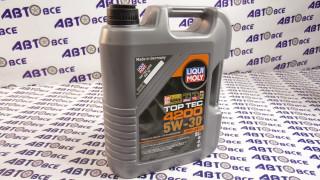 Масло моторное 5W30 (синтетика) SN/SF LIQUI MOLY TOP TEC 4200 5L