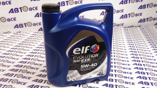Масло моторное 5W40 (синтетика) SN/CF ELF EVOLUTION 900SXR 4L (Дизель)