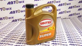 Масло моторное 10W40 (полусинтетическое) SG/CD SINTEC SUPER 4L