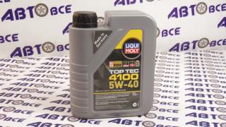 Масло моторное 5W40 (синтетика) SN/CF LIQUI MOLY TOP TEC 4100 1L