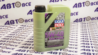 Масло моторное 5W40 (синтетика) SN/CF LIQUI MOLY MOLYGEN 1L
