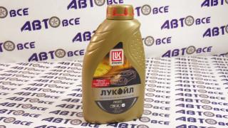 Масло моторное 5W40 (синтетика) ЛУКОЙЛ ЛЮКС 1L