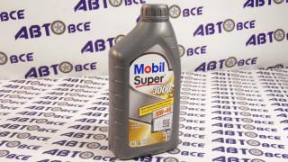 Масло моторное 5W40 (синтетика) SN/SM MOBIL SUPER 3000 1L