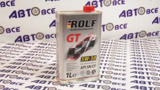 Масло моторное 5W30 (синтетика) SN/CF ROLF GT 1L