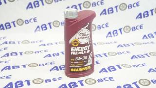 Масло моторное 5W30 (синтетика) SM/CF MANNOL FORMULA ENERGY 1L