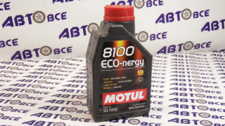 Масло моторное 5W30 (синтетика) SN MOTUL ECO-NERGY 8100 1L