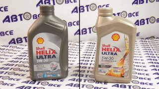 Масло моторное 5W30 (синтетика) SHELL HELIX ULTRA DEXOS2 1L