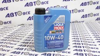 Масло моторное 10W40 (полусинтетическое) SN/CF LIQUIMOLY SUPER LEICHTLAUF 1L