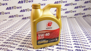 Масло моторное 5W40 (синтетика) SN/CF  IDEMITSU 4L