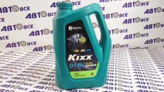 Масло моторное 5W40 (синтетика) C3 SN KIXX DIESEL 4L