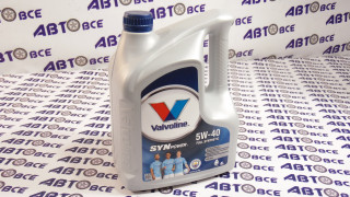 Масло моторное 5W40 (синтетика) A3/B4 VALVOLINE SYNPOWER 4L