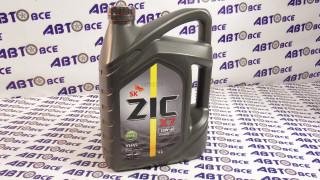 Масло моторное 10W40 (синтетика) CI-4 ZIC X7 DIESEL 6L