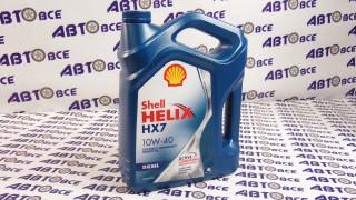 Масло моторное 10W40 (полусинтетическое) A3/B4 SHELL HELIX HX7 DIESEL 4L
