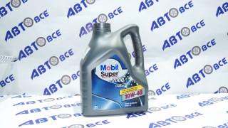 Масло моторное 10W40 (полусинтетическое) A3/B3 MOBIL SUPER 2000 DIESEL 4L
