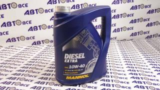 Масло моторное 10W40 (полусинтетическое) CH-4/SL MANNOL DIESEL EXTRA 5L
