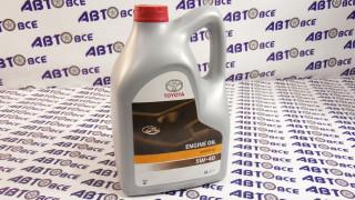 Масло моторное 5w40 (синтетика) SN/SM TOYOTA 5L