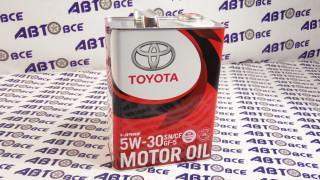 Масло моторное 5W30 (синтетика) TOYOTA GF-5 4L