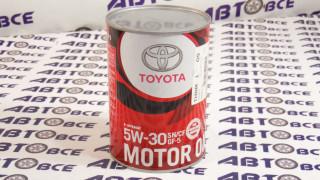 Масло моторное 5W30 (синтетика) TOYOTA GF-5 1L
