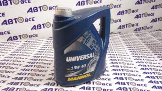 Масло моторное 15W40 (минеральное) SG/CD MANNOL UNIVERSAL 4L