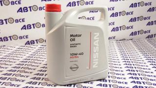 Масло моторное 10W40 (полусинтетическое) A3/B4 NISSAN 5L