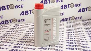 Масло моторное 10W40 (полусинтетическое) A3/B4 NISSAN 1L