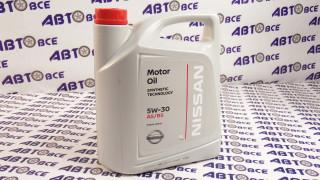 Масло моторное 5W30 (синтетика) A5/B5 NISSAN 5L