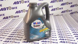 Масло моторное 15W40 (минеральное) A3/B3 MOBIL SUPER 1000 x1 4L