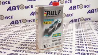 Масло моторное 10W40 (полусинтетическое) CI-4/SL ROLF DYNAMIC DIESEL 1L