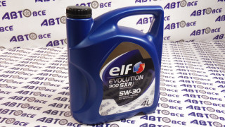 Масло моторное 5W30 (синтетика) SL/CF ELF EVOLUTION SXR 900 4L