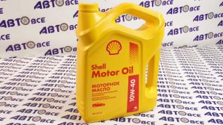 Масло моторное 10W40 (полусинтетическое) SL/CF Shell 4L