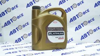 Масло моторное 5W30 (синтетика) SN/CF SINTOIL PLATINUM 4L