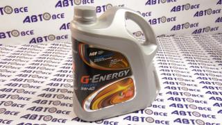 Масло моторное 5W40 (синтетика) SL/CF G-Energy Expert 4L